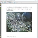 White paper about gasification power plant in Czech Republic.